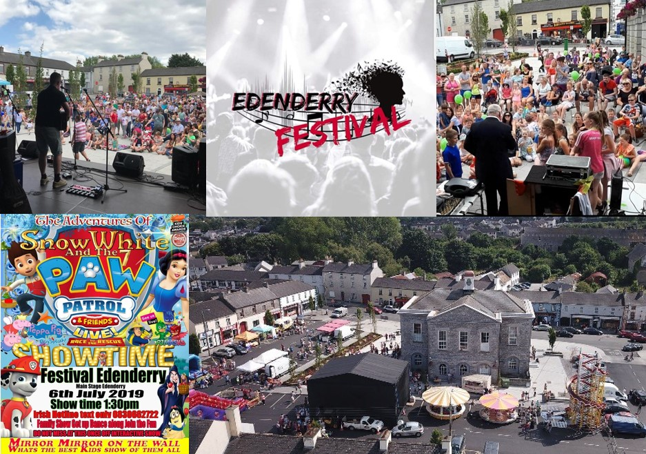 Edenderry Festival 2019 ready to Rock & Goal! |July 4th - 7th | FULL
